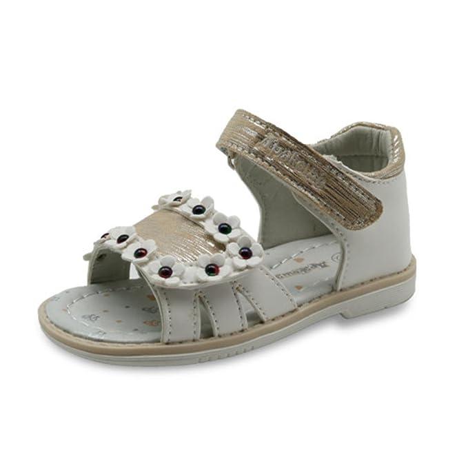 cea9bcea Zapatos ortopédicos de piel sintética para niñas con soporte de arco,  Beige, 3.5