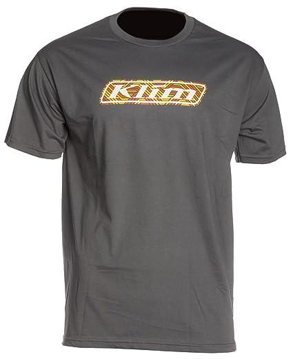 Klim línea arte gráfico T (gris, XL): Amazon.es: Coche y moto