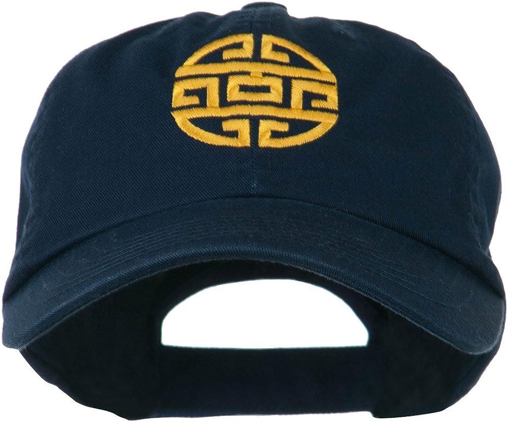 e4Hats.com Circular Oriental Design Embroidery Cap