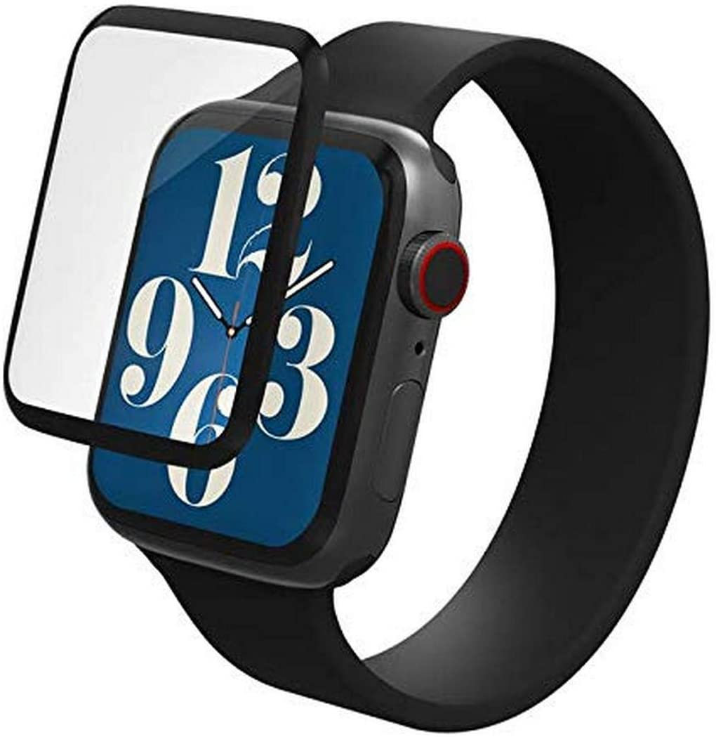 ZAGG Invisbleshield Glass Fusion+ - Engineered Hybrid Glass - Screen Protector - Made for Apple Watch Series 6, SE (2020), Series 5 and Series 4 (44mm)