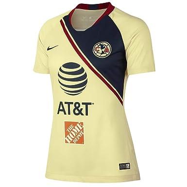 pretty nice e9de0 c8cf7 Amazon.com: Nike Club America Home Soccer Jersey 2018/19 ...