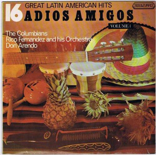 Price comparison product image Adios Amigos - 16 Great Latin American Hits