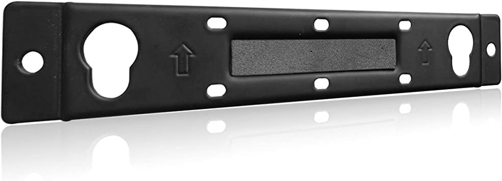 Amazon Com Wb 120 Wall Mount Kit Bracket Compatible With Bose Solo 5 Sound Bar Speaker Holder Stands Bsm001 Black By Wali Electronics
