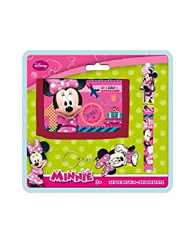 Disney AS9786 Blister Billetero+BOLI+Llavero Minnie: Amazon ...