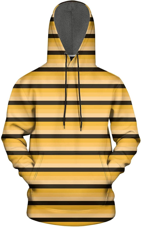 KSEERBABALL Mens Fashion Long Sleeve Sweatshirts,3D Graphic Print Hoodies