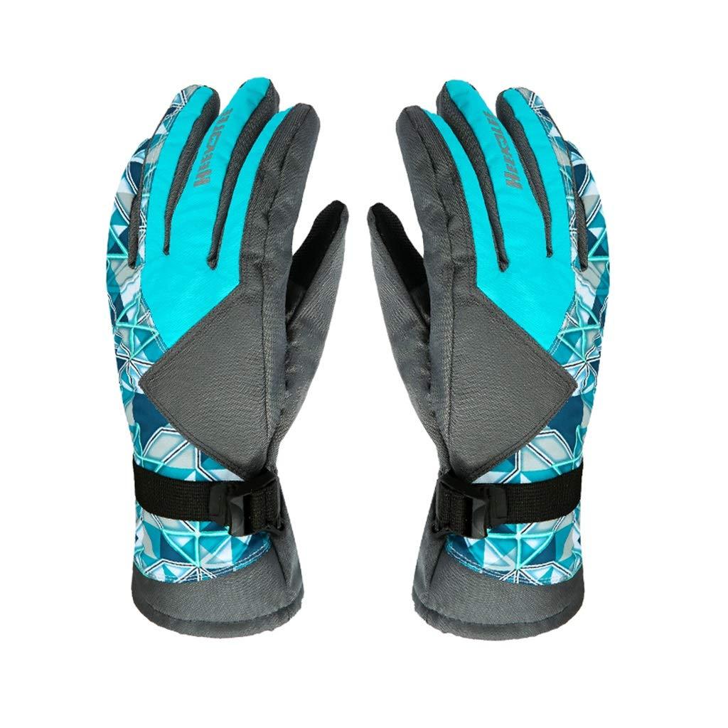 DSADDSD Winter Radfahren Handschuhe, Ski Handschuhe, Männer und Frauen Winter Wasserdichte warme Handschuhe