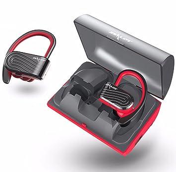 Zealot True - Auriculares inalámbricos Bluetooth TWS con doble auricular estéreo con caja de carga y