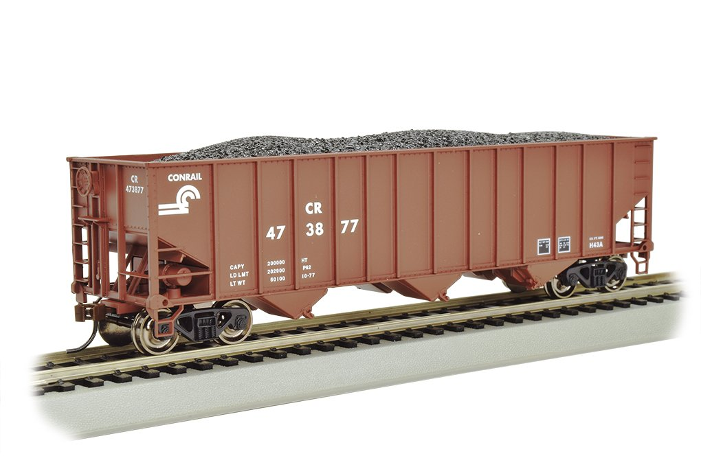 Bachmann Industries Bethlehem Steel 100 Ton Three Bay Hopper Conrail Freight Car