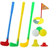 willway Plastic Golf Clubs for Toddlers Kids Child