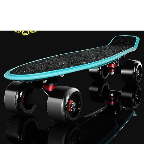 72de0aefbd [skateboard]/La Grande Ruota singola curvatura Quattro Ruote/Banana/[ spazzola