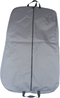 product image for BAGS USA 36 Inch Garment Bag 600 Denier Polyester,Two Pockets,Carry on Bag Made in U.s.a. (Gray)