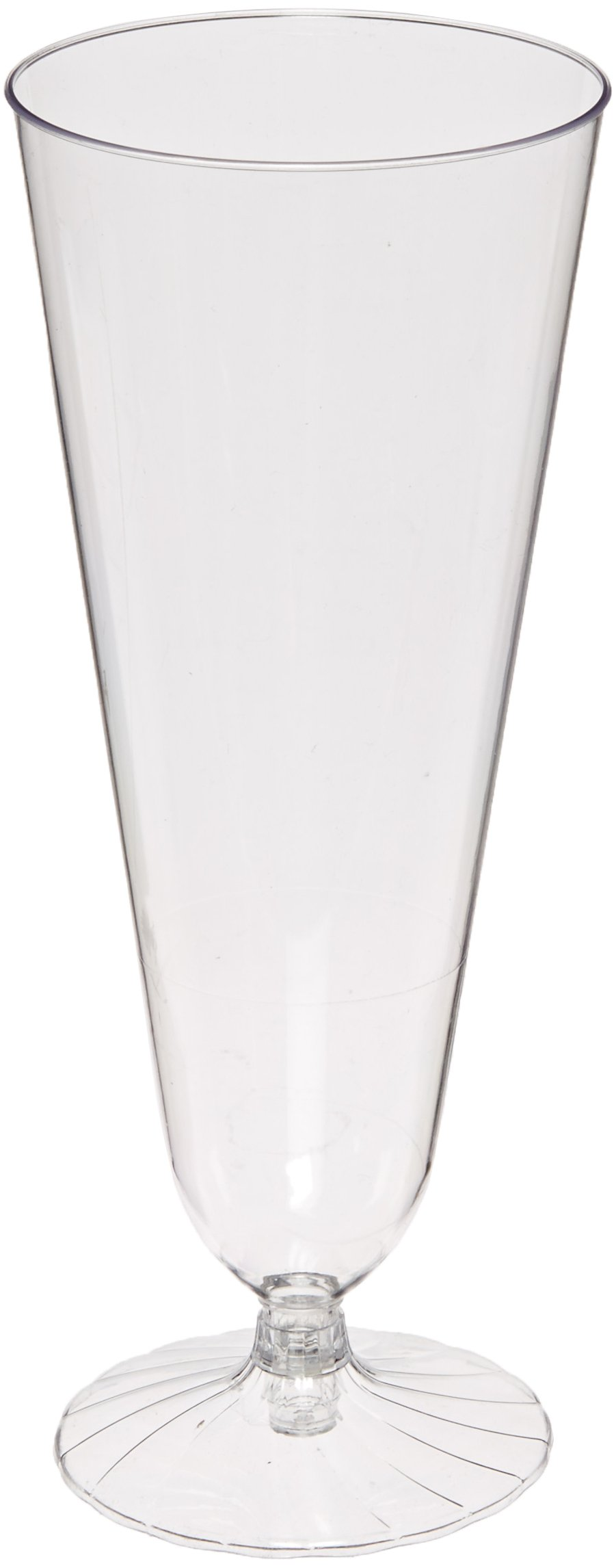 Comet 2-Piece Plastic Beer Pilsner Glass, 12-Ounce, Clear (250-Count)