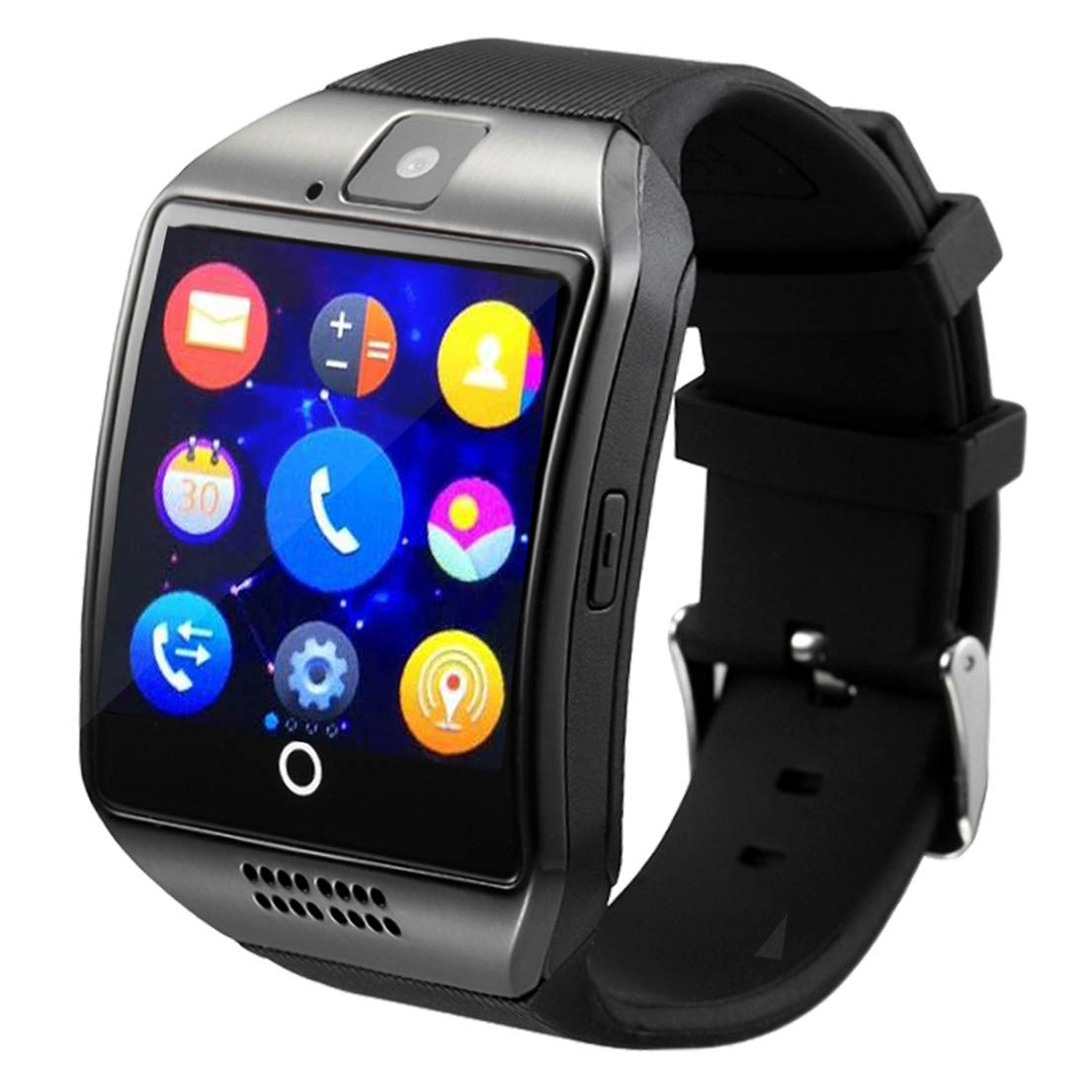 Smart Watch With Camara Touch Screen,OURSPOP Bluetooth SmartWatch, Smart Wrist Watch,Unlocked Watch Cell Phone With 2G GSM Camera Call reminder for Android iPhone Men Women Boys Girls