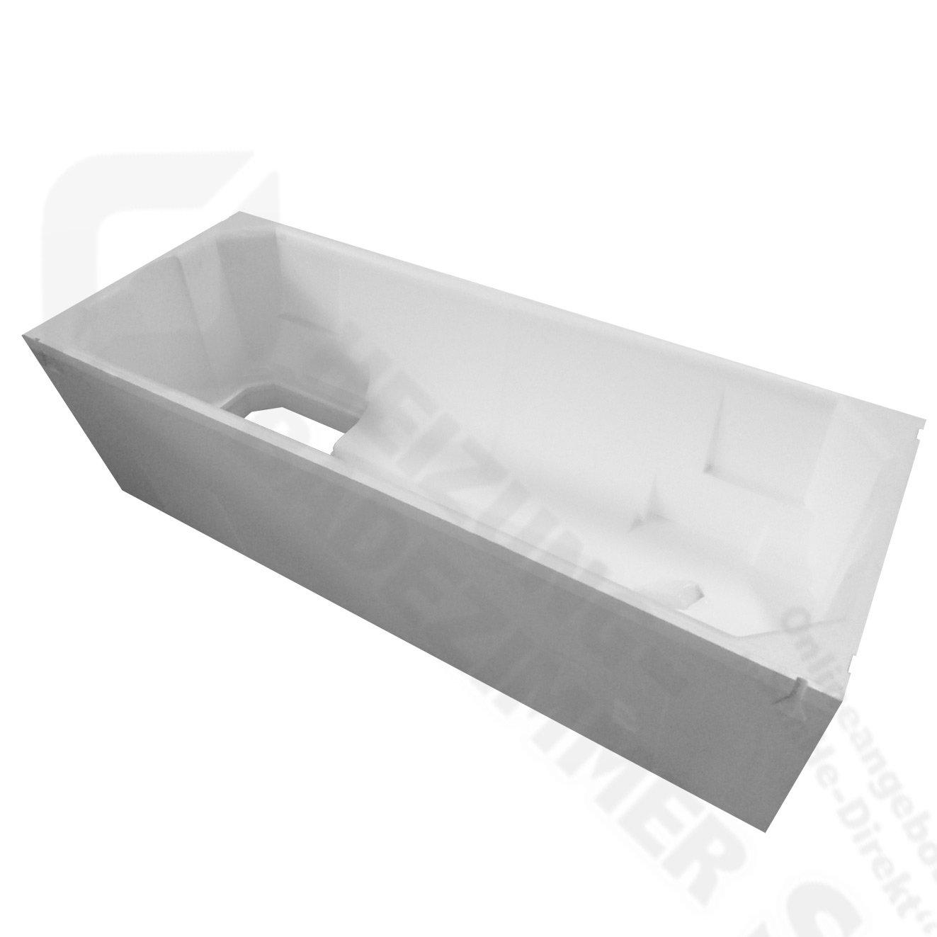 Top Kaldewei Saniform Plus Stahl Badewanne inkl. Wannenträger und DC56