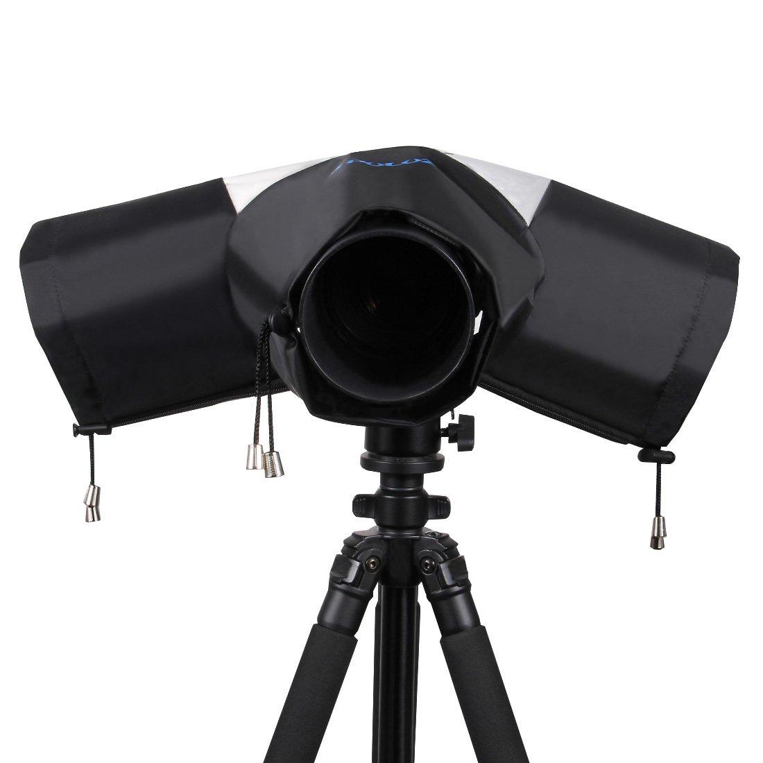 Cimostar Rainproof Camera Protector, Rain Cover for Canon Nikon and All DSLR Camera