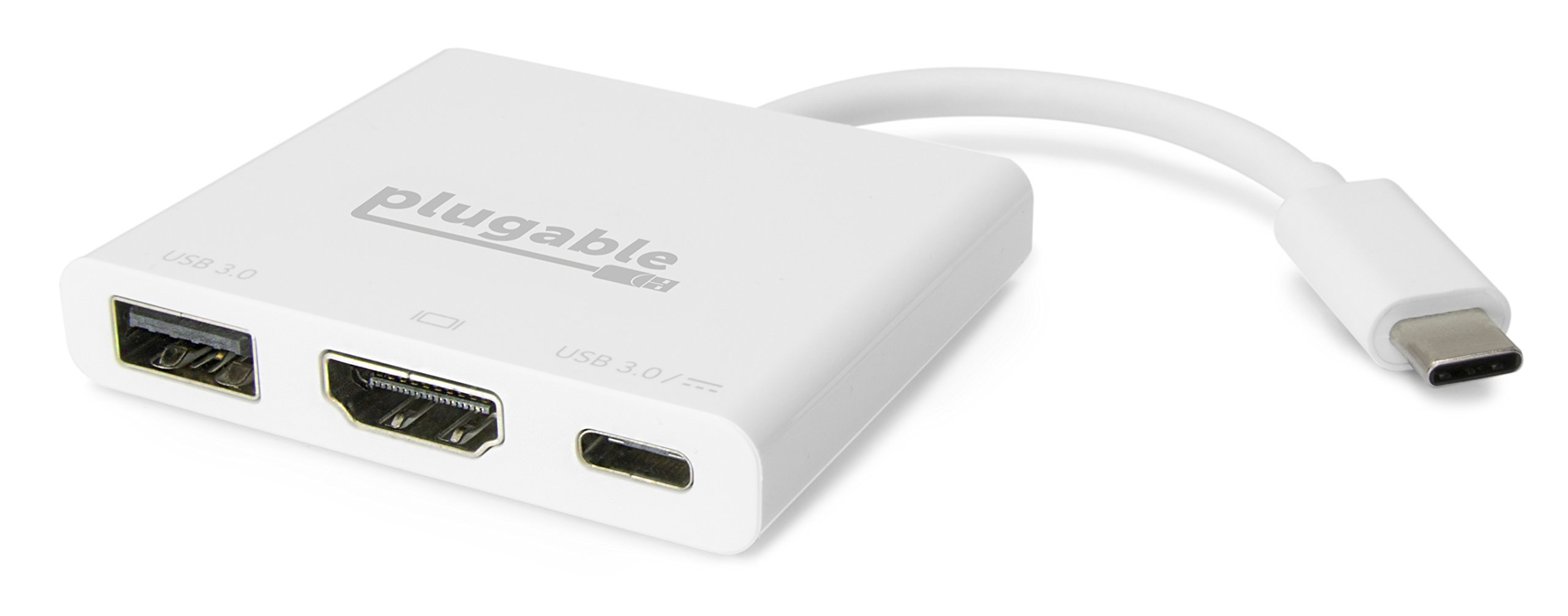 Plugable USB C Mini Dock (4K) - HDMI, USB 3.0 & Charging Capabilities