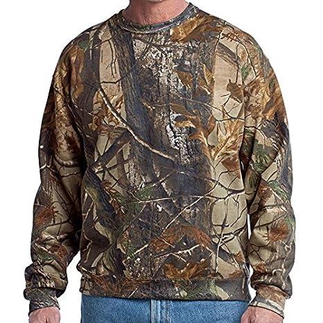 4a76ab41ea0eb Russell Outdoors Mens Realtree AP Camo Long Sleeve Hunting Sweatshirt M L  XL 2XL 3XL (3XLarge