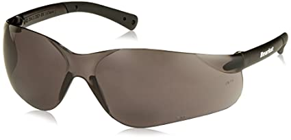b82c918bbc Image Unavailable. Image not available for. Color  Crews BKH25G BearKat  Magnifier Polycarbonate 2.5 Diopter Gray Lens Safety Glasses ...