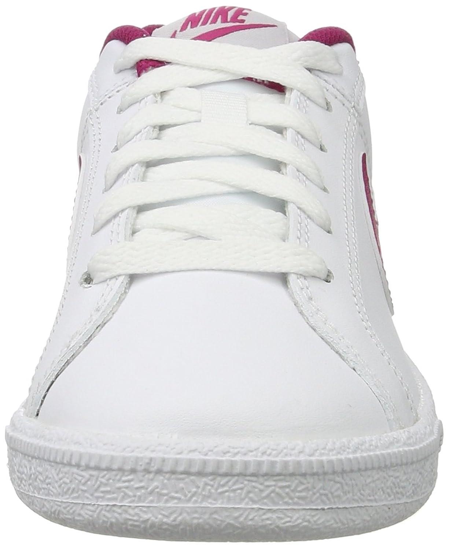 Nike Court Royale, Zapatillas para Mujer, Blanco (White/Sport Fuchsia-Pure Platinum), 36 EU