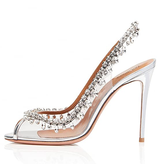 Chain Dew Single Mouth High Fish With Gorgeous Shoes Women's Heel rdxeoCB