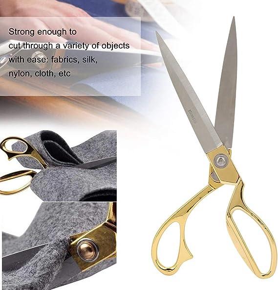 8in HEEPDD Tijeras de Costura Cl/ásico Profesional Metal Acero Inoxidable Tijeras afiladas Tijeras forjadas Resistentes para Sastre Sastre Craft Pa/ño de Corte de Cuero