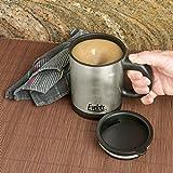 Evelots Self Stirring Battery Operated Mug, Coffee, Tea, Beverage , Black