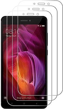 Peloo Protector de Pantalla para Xiaomi Redmi Note 4/Note 4X [3 Unidades] Cristal Templado para Xiaomi Redmi Note 4/Note 4X 9H Dureza Alta Definicion[Update]: Amazon.es: Electrónica