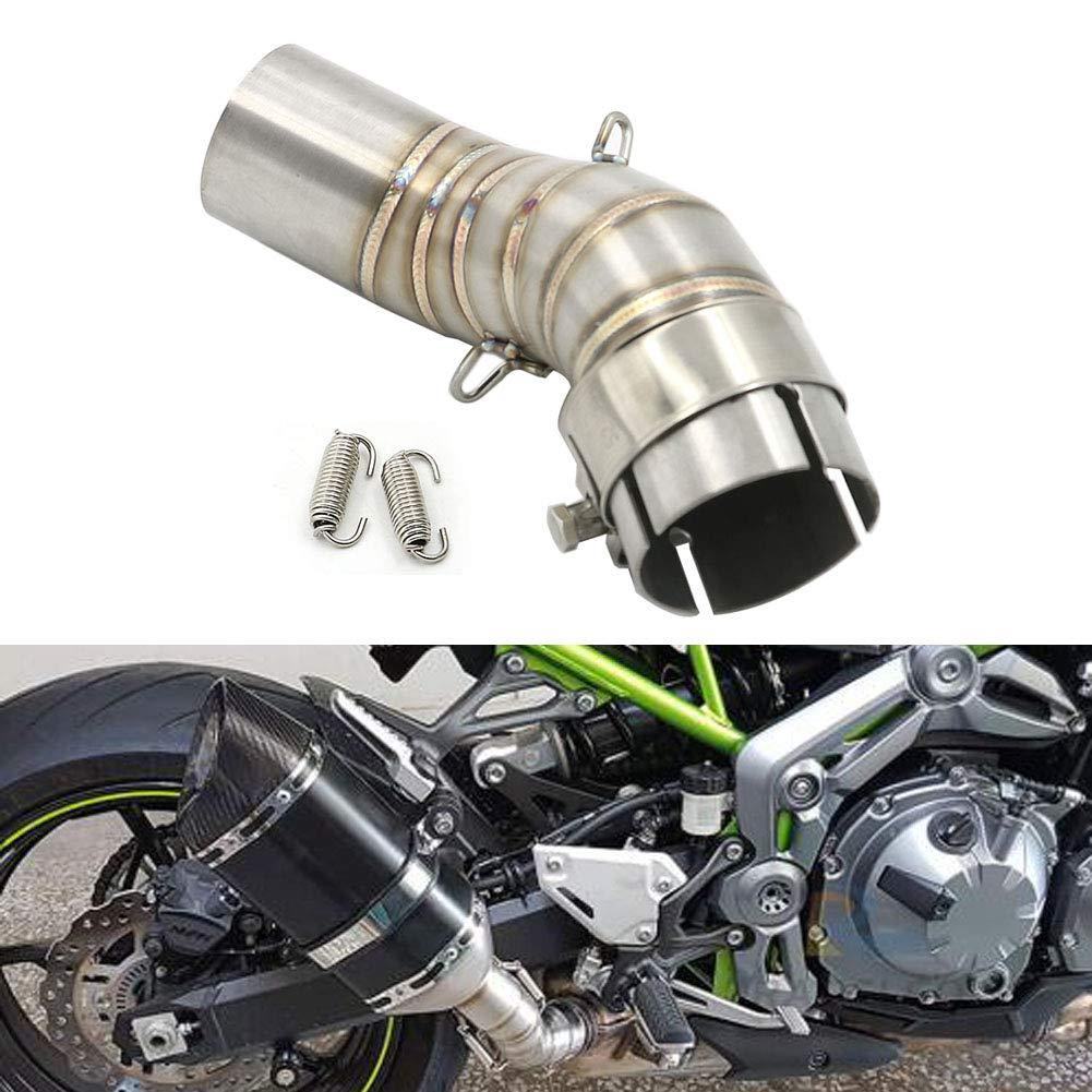 Amazon.com: For Kawasaki Z900 2017-2018 51mm Exhaust Middle ...