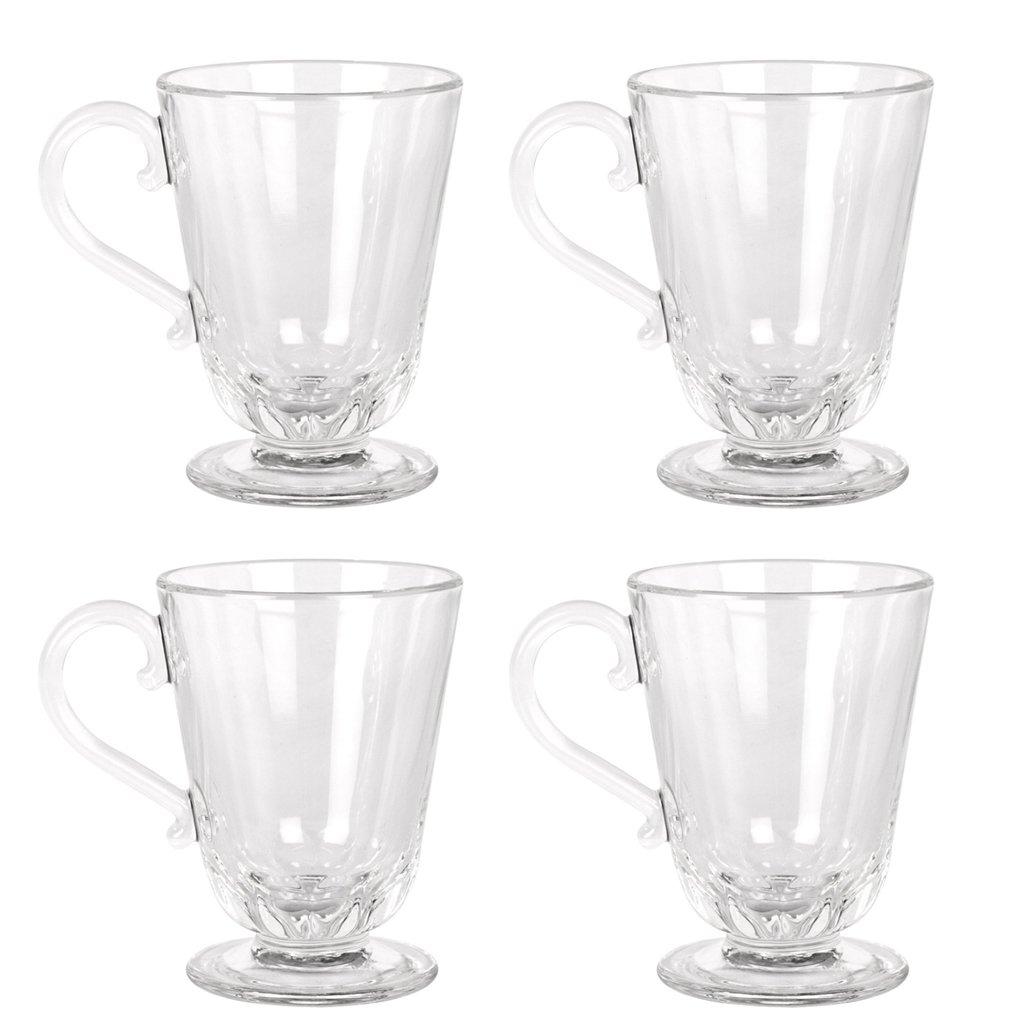 Lyonnais Clear Glass Mulled Wine Mug - Set of 4 La Rochere