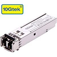 10Gtek for Cisco GLC-SX-MMD/ GLC-SX-MM/ SFP-GE-S, Gigabit SFP SX Transceiver, 1000Base-SX, MMF, 850nm, 550m
