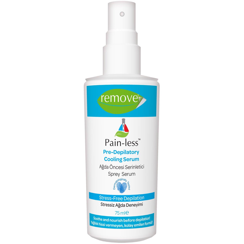 Remove Painless Pre-Depilator Before Wax Cooling Serum Spray 75ml
