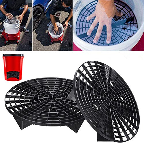 Alftek 23.5/26cm Car Wash Grit Guard Insert Washboard Water Bucket Filter Anti Scratch Tool