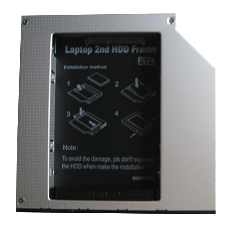 Genérico 2 nd Disco Duro SSD Disco Duro Caddy Adaptador para Acer ...