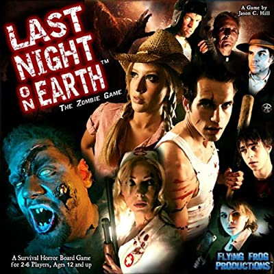 Last Night On Earth - The Zombie Game by Flying Frog Productions