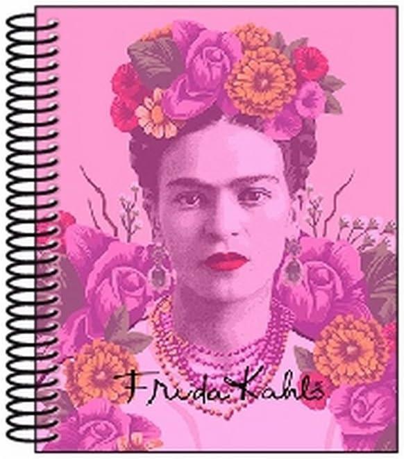 Frida Kahlo- Cuaderno Bloc A7 100 Hojas (SAFTA 561646099): Amazon ...