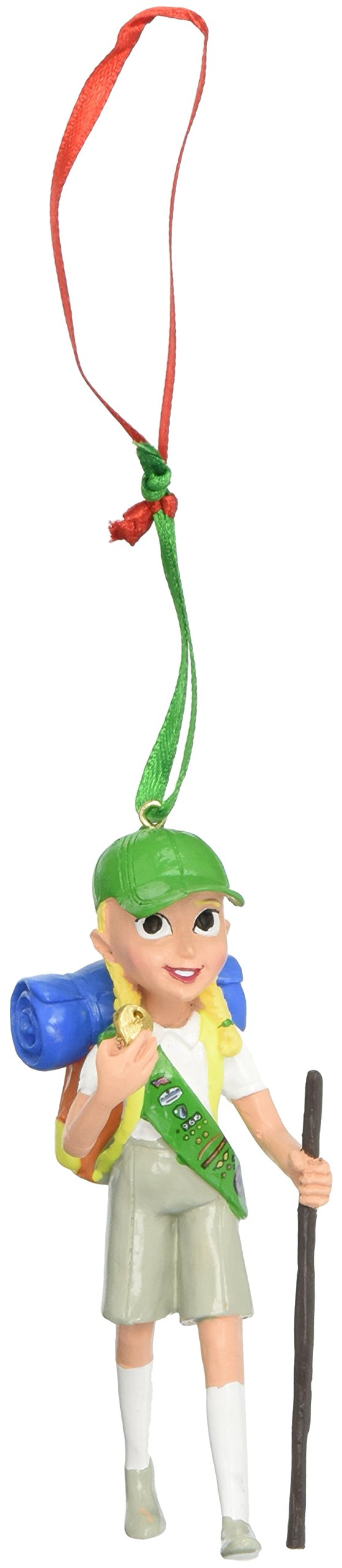 Department 56 Girl Scout Junior Camping Hanging Ornament by Department 56 (Image #1)