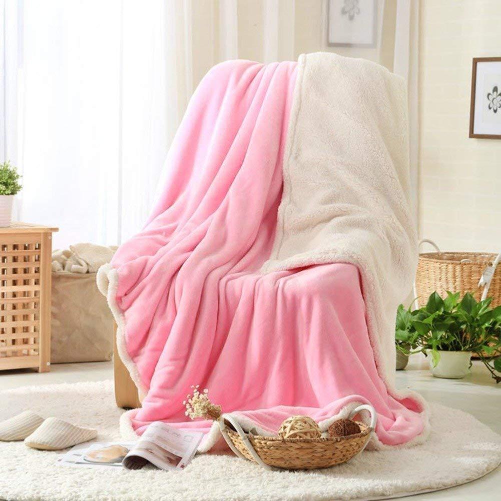 Mabmeiyang 冬の厚くなるフランネル毛布、暖かい単一の二重タオルのキルト毛布 (Color : 200x230cm(79x91inch), サイズ : A) B07SRPFST7 200x230cm(79x91inch) A