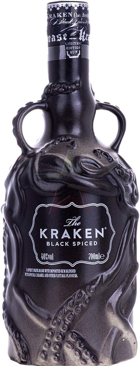 The Kraken The Kraken BLACK SPICED Ceramic Limited Edition 40% Vol. 0,7l - 700 ml