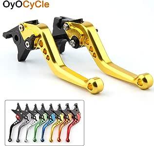Amazon.com: OyOCycle Palancas de embrague de freno cortas ...