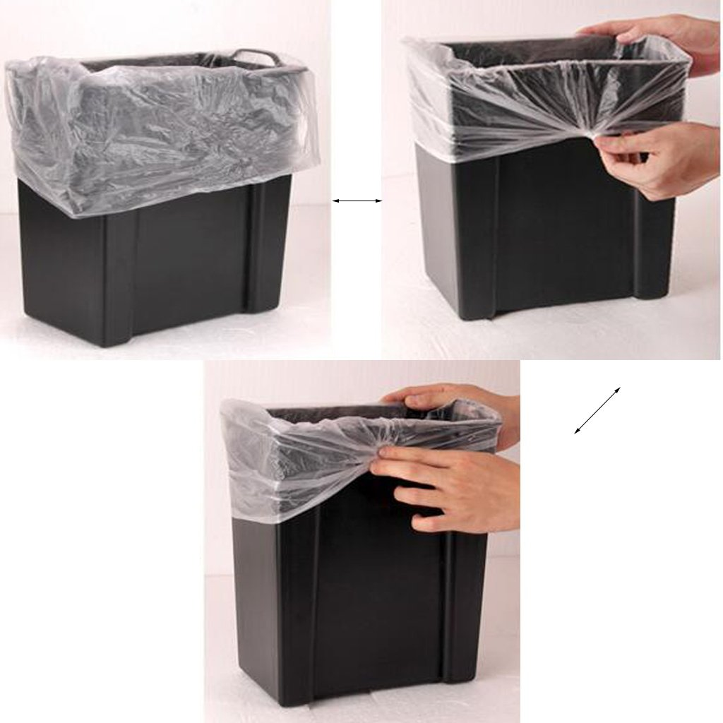 Wood Grain Stainless Steel Pedal Trash Can Living Room Kitchen Bathroom Simple With Cover Creative Trash Bin Beautiful and durable (Size : A) by HN Trash Cans (Image #4)