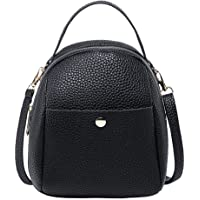 Elever Women Casual Solid Removable Strap Square Shoulder Bag Shoulder Bags