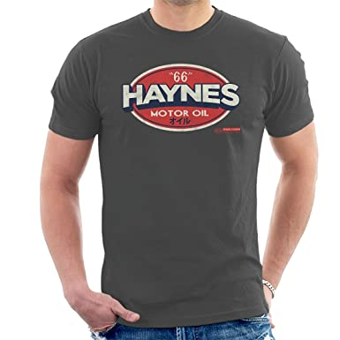 POD66 Haynes 66 Motor Oil Gulf Logo Men'S T-Shirt uaUHlEvK