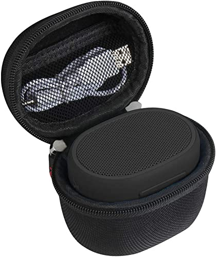 Hermitshell Travel Case Fits Sony XB01 Bluetooth Compact Portable Speaker Black