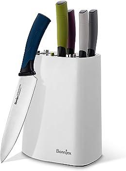 5-Piece Bonniex Kitchen Knives Set with Safety Lock