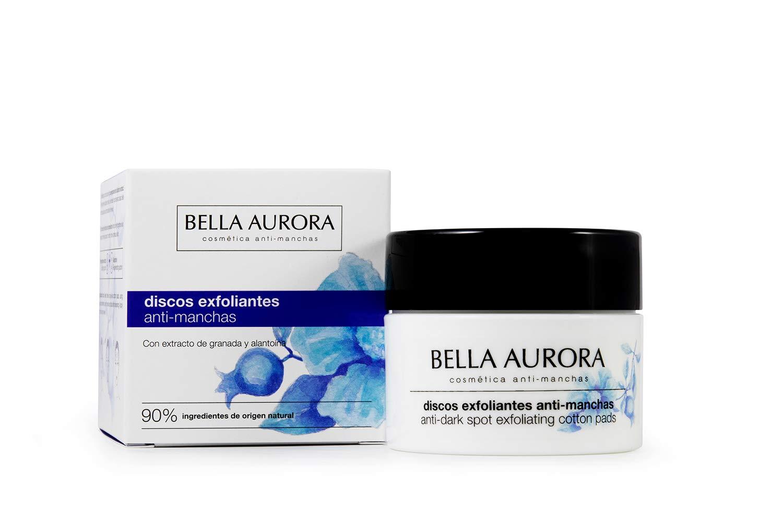 Bella Aurora Discos Faciales Exfoliantes Anti-Manchas | Elimina Impurezas | Estimula la Regeneración Celular | Aporta Luminosidad y Reduce Poros, Pack de 30 discos, 15 ml: Amazon.es