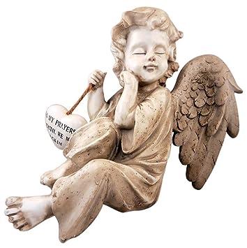 Amazoncom Memorial Angel Garden Figurine Outdoor Statues