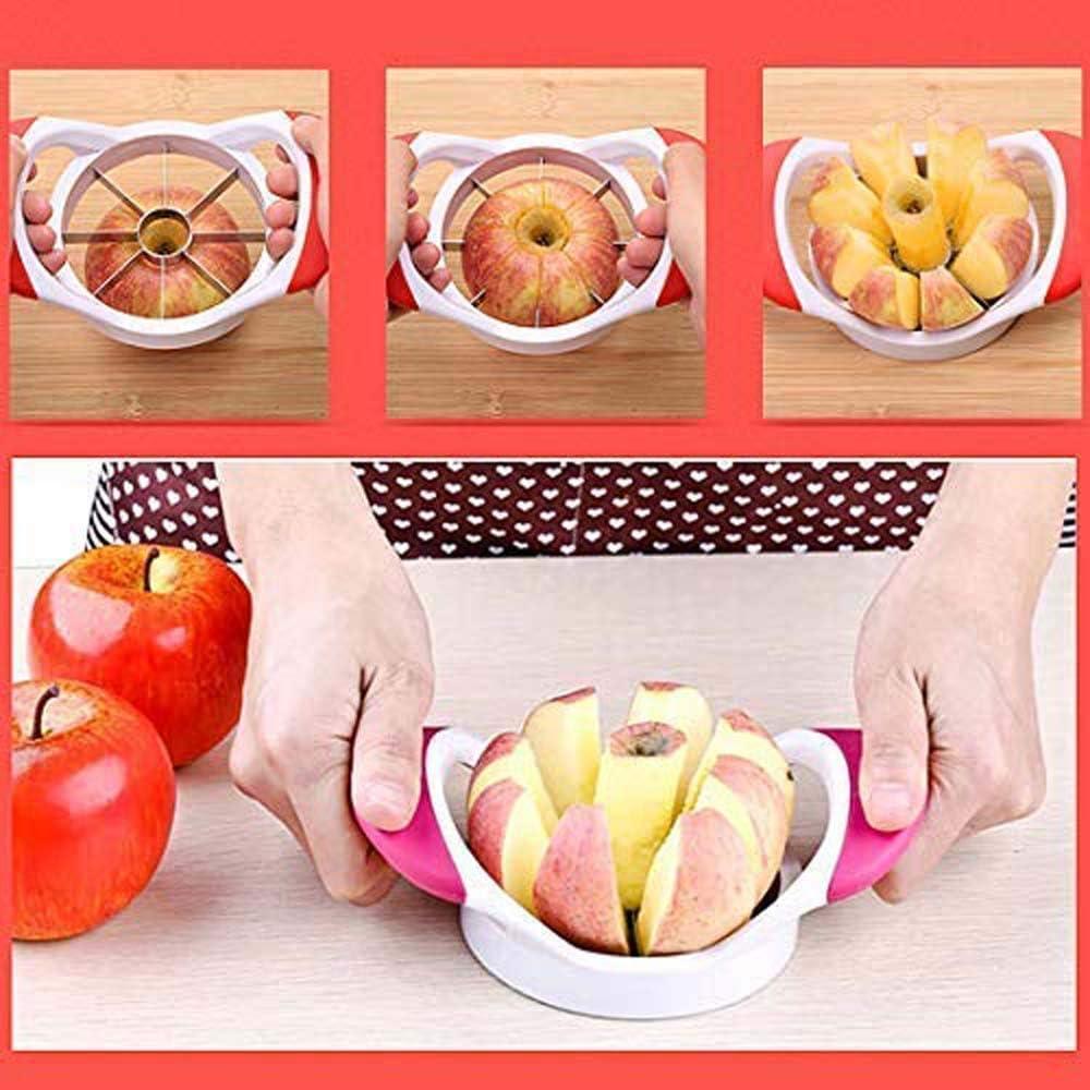 Pelador de manzanas de alta calidad rojo y verde rosso