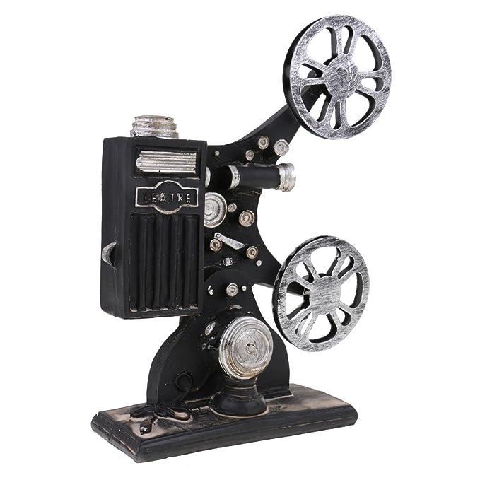 Gazechimp Caja de Música de Antigua Retro Proyector de Cine ...