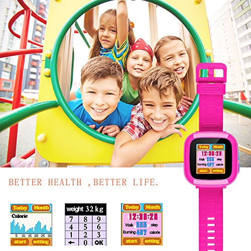 Kids Smartwatch,Smart Watch with Games,Girls Boys Smart Watches with Digital Camera Children's Smart Wrist Kids Gifts Learning Toys by YNCTE (Image #5)