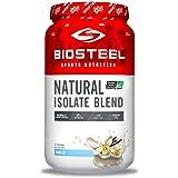 BioSteel Natural Isolate Blend Protein Powder with Milk Protein, Whey Protein, Egg Protein, Vanilla, 700 Gram